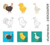 vector design of breeding and... | Shutterstock .eps vector #1404206909