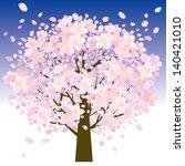 cherry tree | Shutterstock . vector #140421010