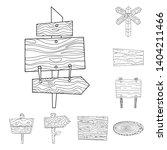 vector design of hardwood and... | Shutterstock .eps vector #1404211466