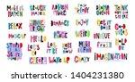 lettering photography overlay... | Shutterstock .eps vector #1404231380