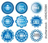 product vintage labels template ... | Shutterstock .eps vector #140425084