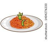 spaghetti vector graphic... | Shutterstock .eps vector #1404276233