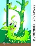 worms smile eat | Shutterstock . vector #140434219
