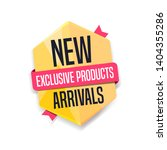 new arrivals exclusive products ... | Shutterstock .eps vector #1404355286