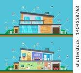 visual infographics smart... | Shutterstock .eps vector #1404358763