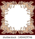 beautiful traditional paisley... | Shutterstock . vector #1404429746