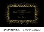 golden rectangle. frame of gold ... | Shutterstock .eps vector #1404438530