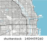 black and white vector city map ... | Shutterstock .eps vector #1404459260