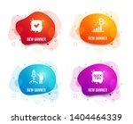 liquid badges. set of confirmed ... | Shutterstock .eps vector #1404464339