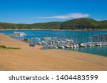Sailboats On The Shore Of The...