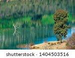 blue lake in zahara de la...   Shutterstock . vector #1404503516