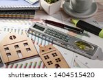 accounting. items for doing... | Shutterstock . vector #1404515420