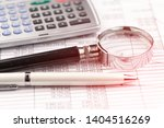 accounting. items for doing... | Shutterstock . vector #1404516269