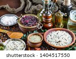 spices and seasonings for... | Shutterstock . vector #1404517550