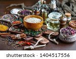 spices and seasonings for... | Shutterstock . vector #1404517556