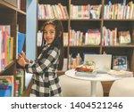 little asian child picking... | Shutterstock . vector #1404521246