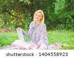 business lady freelance work... | Shutterstock . vector #1404558923