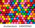 Brightly Colored Gum Balls...