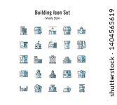 building icons vector. building ... | Shutterstock .eps vector #1404565619
