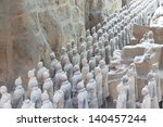 Restored Terracotta Warriors I...