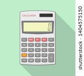 calculator vector illustration... | Shutterstock .eps vector #1404575150