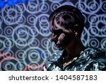 portrait of young beautiful... | Shutterstock . vector #1404587183