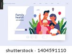 medical insurance template ... | Shutterstock .eps vector #1404591110