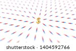 all compasses turned to dollar... | Shutterstock . vector #1404592766