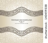 vintage background  elegance... | Shutterstock .eps vector #140459338