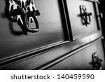 vintage antique furniture... | Shutterstock . vector #140459590