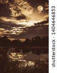 beauty night sky with dark... | Shutterstock . vector #1404646853