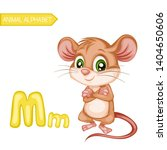 Animal Alphabet. M Is For Mous...