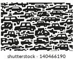 cars doodles | Shutterstock .eps vector #140466190