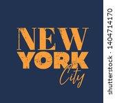 typography new york city t... | Shutterstock .eps vector #1404714170