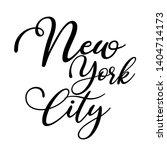 typography new york city t... | Shutterstock .eps vector #1404714173