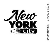typography new york city t... | Shutterstock .eps vector #1404714176