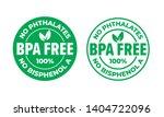 bpa free vector certificate...   Shutterstock .eps vector #1404722096