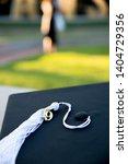 a close up of a graduation cap.   Shutterstock . vector #1404729356