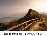 Paling Fence To Peak Of The...