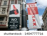 Sign No Alcohol In Public...