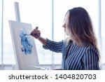 side view of talented female... | Shutterstock . vector #1404820703