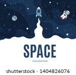 space square background with... | Shutterstock .eps vector #1404826076