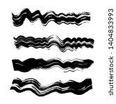 black wave dirty brush strokes... | Shutterstock .eps vector #1404833993