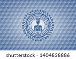 graduated icon inside blue...   Shutterstock .eps vector #1404838886