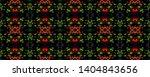 tibetan pattern. vintage shawl... | Shutterstock . vector #1404843656