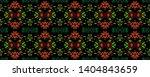 tibetan pattern. vintage shawl... | Shutterstock . vector #1404843659