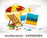 beach time | Shutterstock .eps vector #140485084