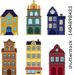 Collection Of Houses In The...
