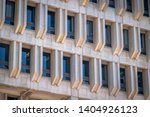 The Facade And Windows Of...