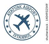 ataturk airport istanbul logo.... | Shutterstock .eps vector #1404932549